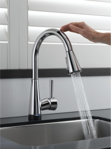 Touch Faucet: A Relative New Comer To The Faucet Game, Hands Free Or Touch  Faucets Offer Either A Touch Or Motion Activated Water Stream.