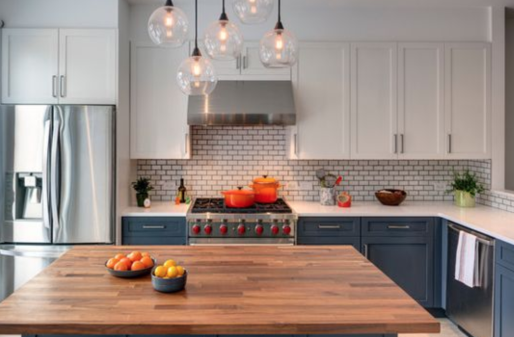 Mixing and Matching Cabinet Colors | NJ Kitchens and Baths
