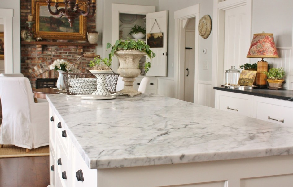 3 Things To Consider When Choosing Kitchen Countertops. Marble Counters